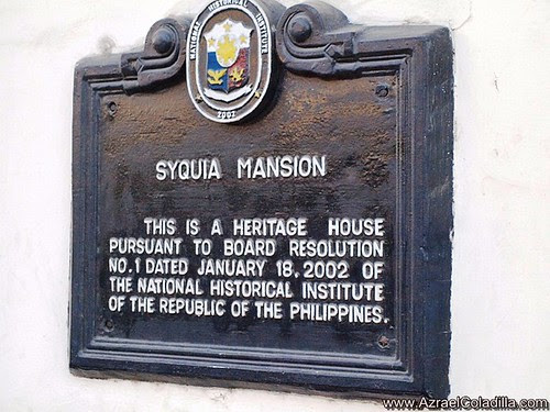Syquia Mansion in Vigan - photos by Azrael Coladilla