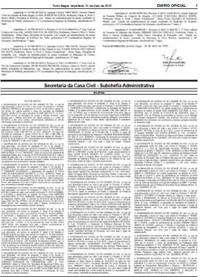 Autorização dos gastos foi publicada no Diário Oficial (Foto: Reprodução)