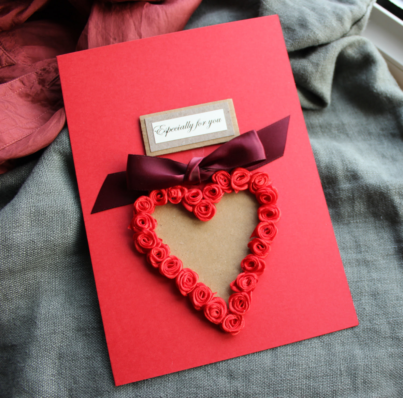 Valentine Card Design Handmade Happy Birthday Card For Boyfriend