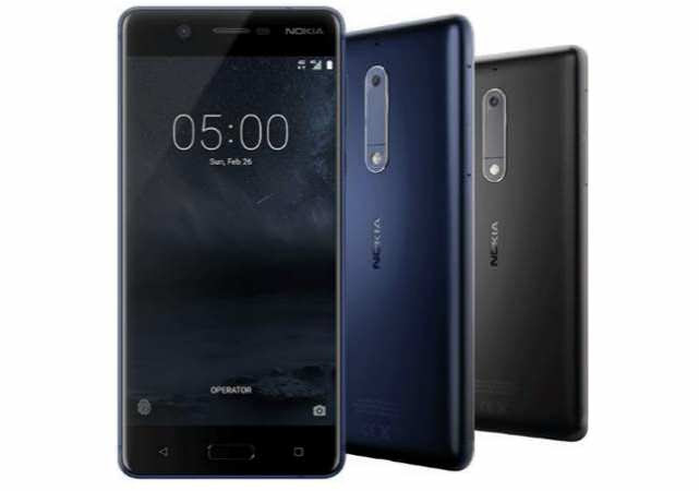 Nokia 5 in colors