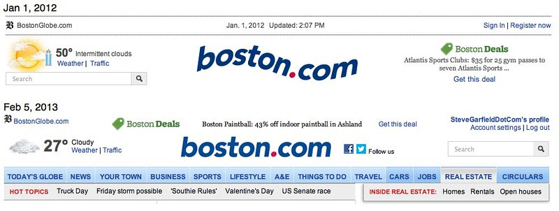 Boston.com is Now Straight?