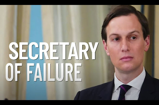 Avatar of 'Secretary of Failure': Conservative PAC goes after Trump's son-in-law Jared Kushner in blistering new attack ad