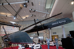 BMW Oracle Racing, Moscone West, Oracl OpenWorld 2011