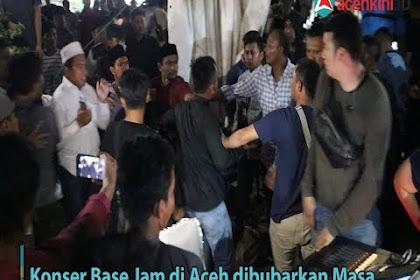 Jadèh Konser, Karu di Taman PKA, Massa: Kadisbupdar Khianat Kamoe