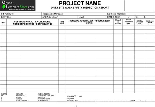 Contruction Templates | CONSTRUCTION DOCUMENT TEMPLATES