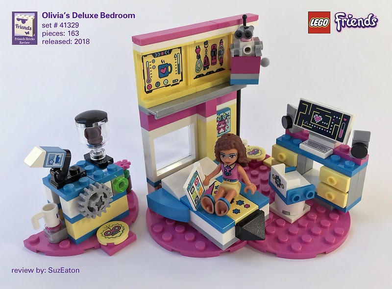 Heartlake Times Review 41329 Olivia S Deluxe Bedroom