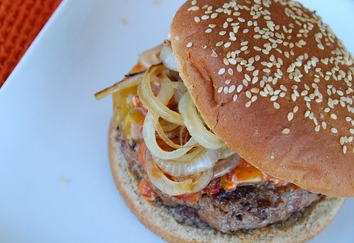 a Southwest hamburger