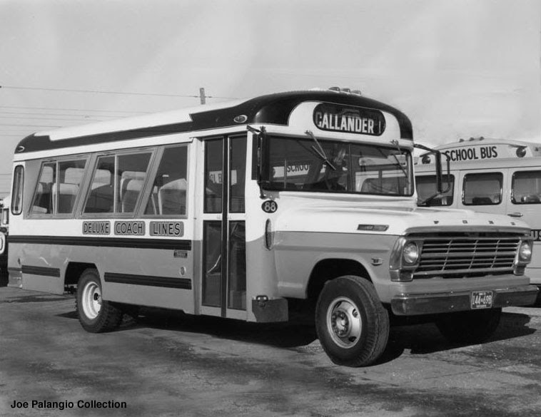 1971 Ford thomas airporter bus