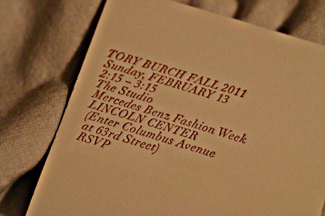 New York Fashion Week, Tory Burch
