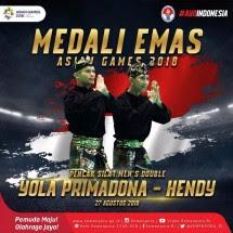 Atlet Pencak Silat Indonesia Yola Primadona Jampil/Hendy raih medali ke-14 untuk Indonesia