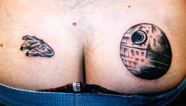 Los 13 Tatuajes Más Sorprendentes Sobre Star Wars Sensacinecom