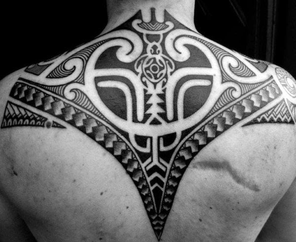 60 Tribal Back Tattoos For Men Bold Masculine Designs