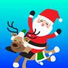 salma akter - Santa Claus Chat Xmas Sticker artwork