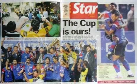 Public Holiday For Winning AFF Suzuki Cup