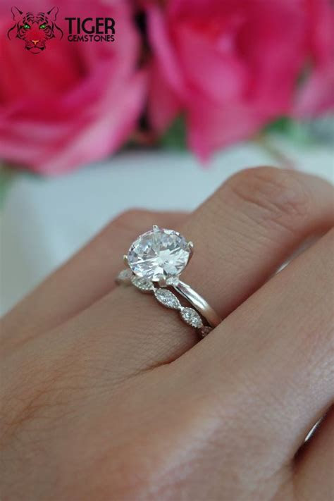 large man  diamond rings wedding promise diamond