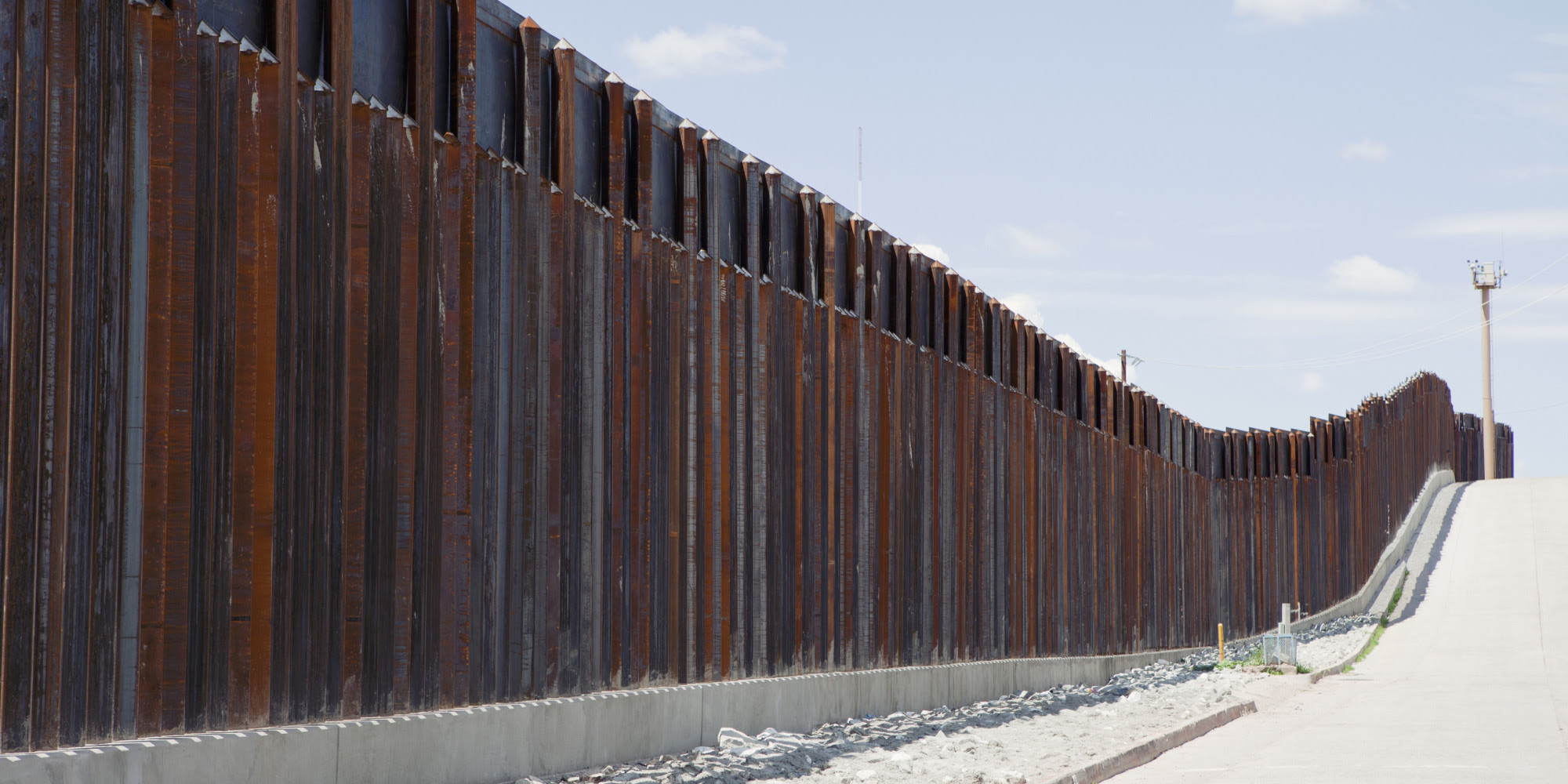 Image result for building of border wall, despite cost