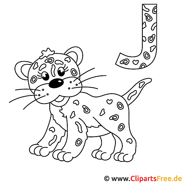 ausmalbilder jaguar ausdrucken  ausmalbilder