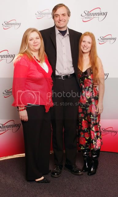 Slimming World COTY Finalists with Consultant 2010