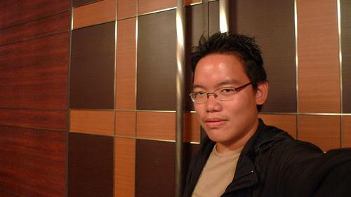 First self-portrait with the Panasonic DMC-LX3