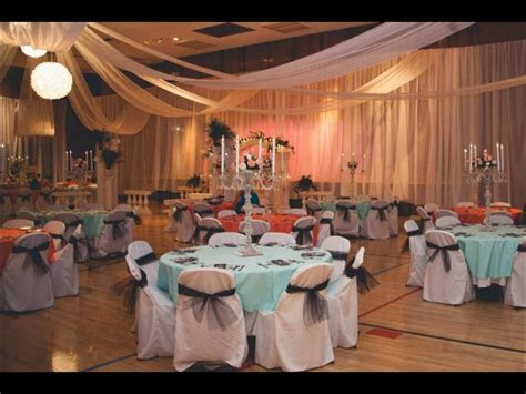An lds wedding set up!! Classic and affordable