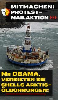 Keine Ölbohrungen in der Arktis