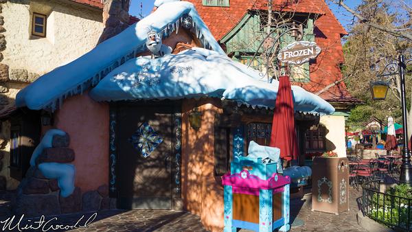 Disneyland Resort, Disneyland, Fantasyland, Olaf, Frozen, Meet, Greet