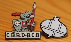 CBBD chevalier de la bulle - pin - photo Goria