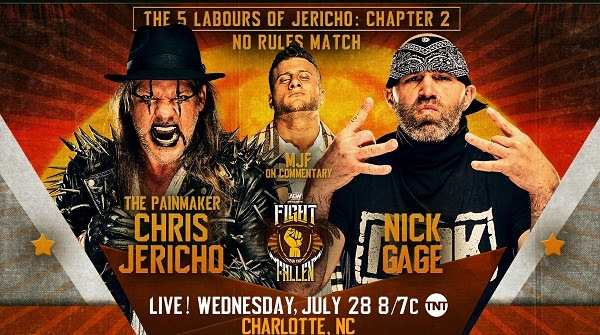 Watch AEW Fight For The Fallen Dynamite Live 7/28/21 July 28th 2021 Online Full Show Free