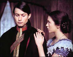 Lt. Pinson (Bruce Robinson) and Adele H. (Isabelle Adjani)