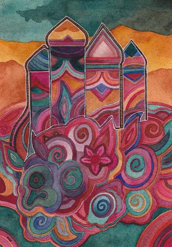 Desert Minaret by megan_n_smith_99
