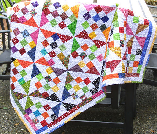 Scrappy Illusion Quilt