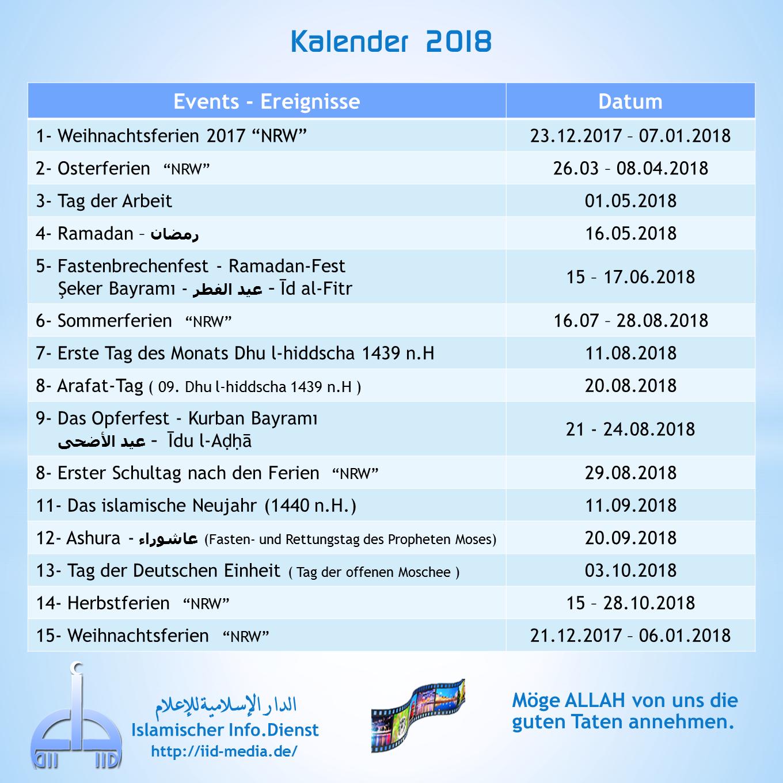 Fastenzeiten 2021 Ramadan