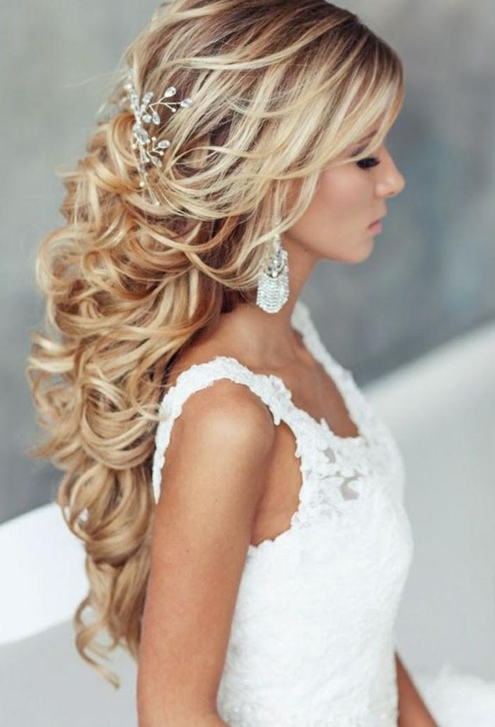 Lockere Steckfrisur Mit Mehr Volumen Fr Die Hochzeit Haare