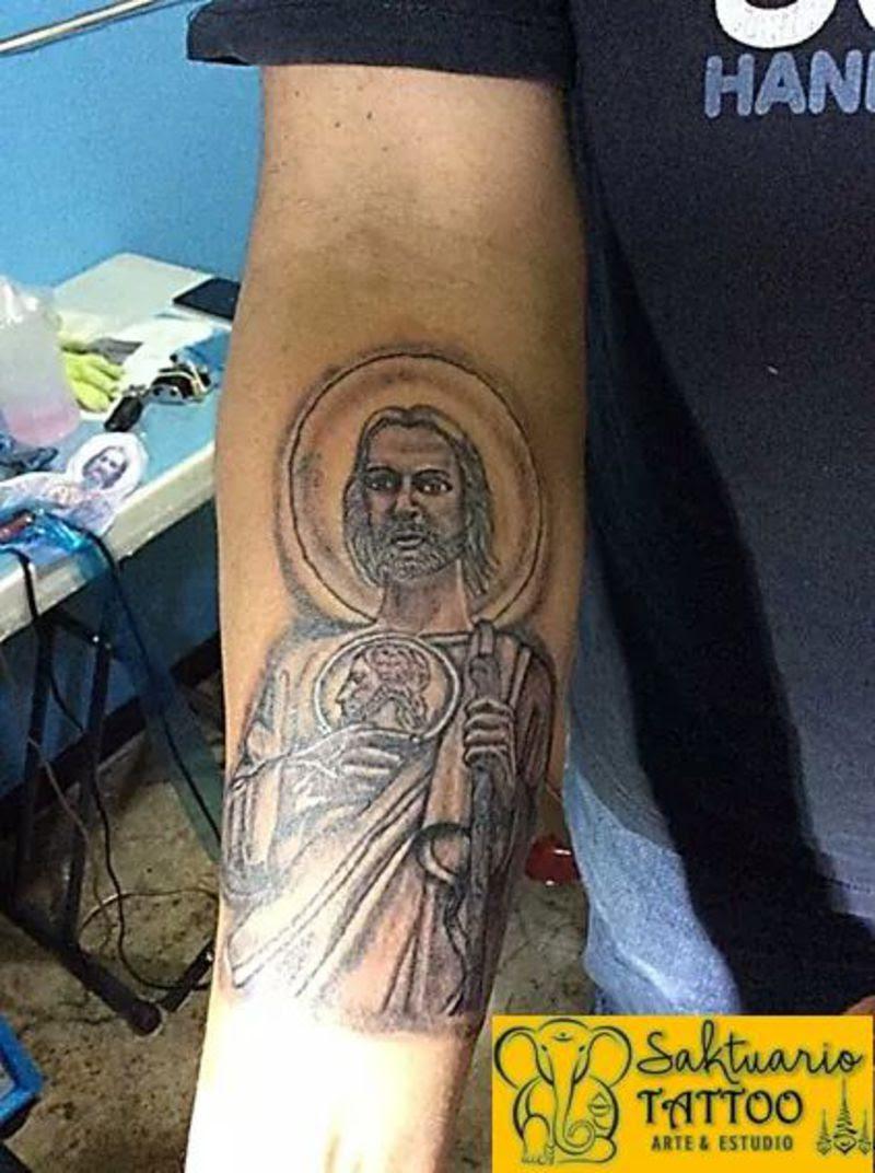 San Judas Tadeo Tatuaje 87892 Loadtve