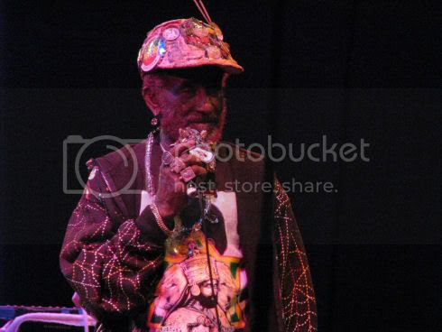Lee Scratch Perry @ Harbourfront: photo by Michael Ligon