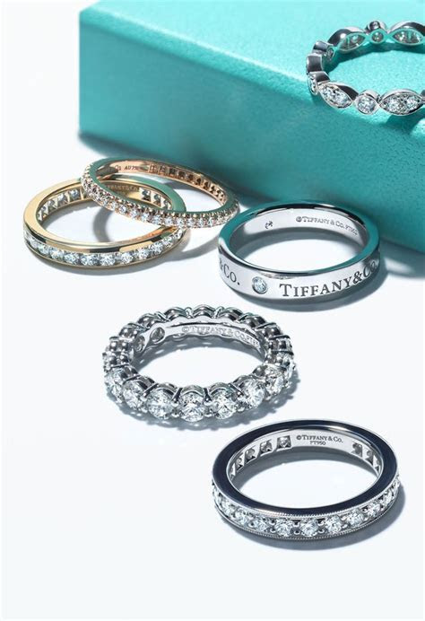 Dazzling options. Brilliant styles. Tiffany wedding bands