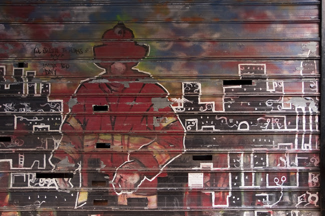 FDNY Mural, EV