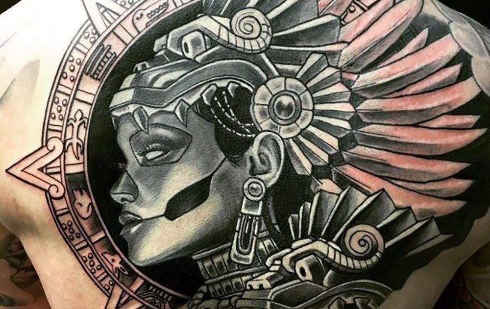 25 Mejores Tatuajes Maya Historia Símbolos Y Su Significado 2018
