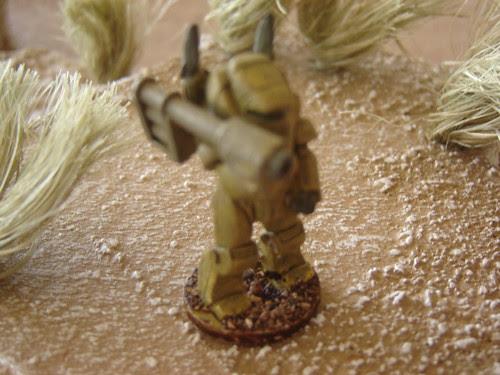 Close-Up of Power Armour