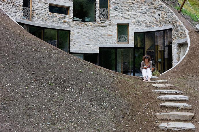Villa Vals, SeARCH & CMA