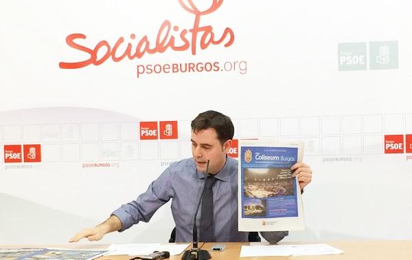 Daniel de la Rosa ha criticado la publicidad institucional del Ayuntamiento de Burgos