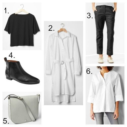 Minimalist fashion finds from Gap