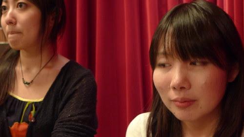 Tsunaoka and An-chan ponder