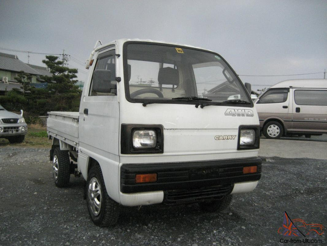 Suzuki Internasional Suzuki Carry 4x4 Mini Truck For Sale Uk