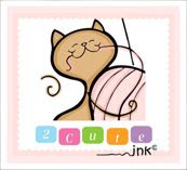 2 Cute Ink Digital Stamps