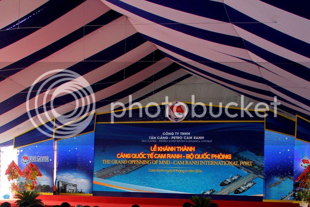 'Cận cảnh' Cảng Quốc tế Cam Ranh - ảnh 1