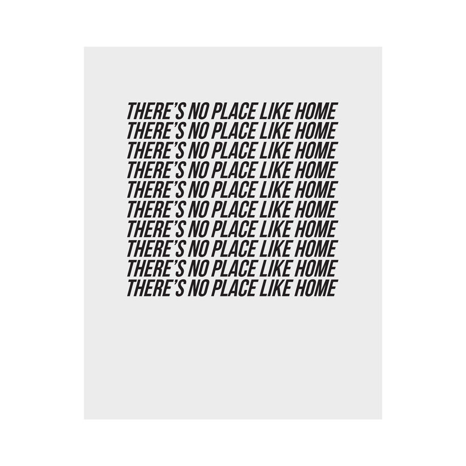 Theres No Place Like Home Art Print Cult Paper