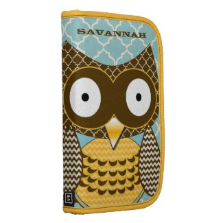 Cute Owl Moorish Zig Zag Pattern Choose Your Color rickshawfolio