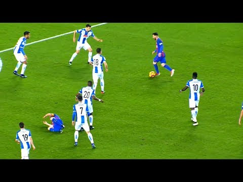 20 Lionel Messi Dribbles That Shocked The World | HD