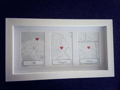 Love this idea for 1st wedding anniversary present! met